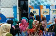 Tertib,Pendistribusian Bantuan Indonesia Pintar Di Tambelangan