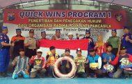 Satpolair Banyuwangi & Ditpolairut Jatim Gelar Quick Wins Tibgakkum Organisasi Radikal & Anti Pancasila