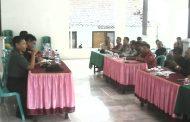 Demi Tingkatkan Pelayanan, Forpimka Muncar Gelar Pelatihan Pada Aparatur Desa