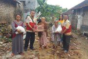 BSMI Sumenep Berikan Bantuan Pada Korban Bencana Angin Puting Beliung