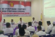 Gerindra Bireuen Gelar RAPIM, Menangkan Prabowo Presiden Di-Pilpres Mendatang