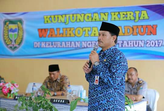 Walikota Madiun Sosialisasikan Program 2018