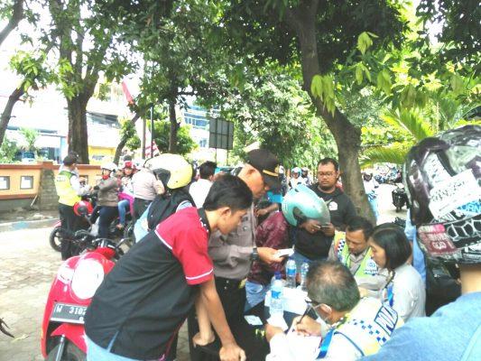 Polsek Sidoarjo Kota,Gelar Razia Tilang150 Pelanggar