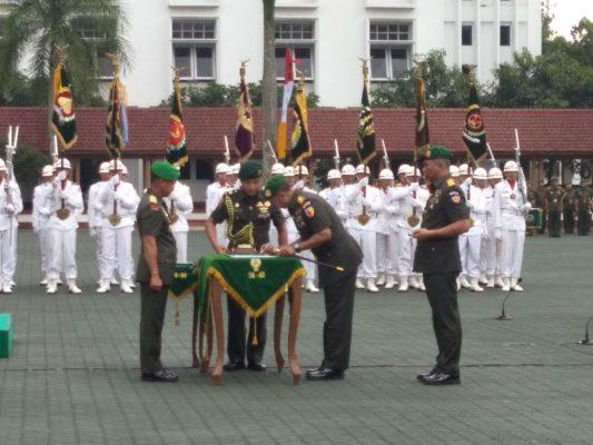 Mayjen TNI Arif Rahman, Resmi Gantikan Posisi Mayjen Kustanto
