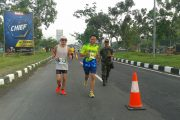 Dandim Bangkalan Ikuti Event Jawa Pos Fit EAST JAVA Marathon 2017
