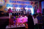 Jemaat GIDI Eden Santarosa Ikuti Perayaan Natal Bersama