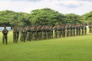 Upacara Memperingati HUT ke-31 Brigif Para Raider 3 Kostrad