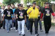 "KPU Kota Madiun Sosialisasikan Tema Pilkada Jatim ""Guyub Rukun"""