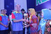 Ribuan Relawan di Palembang Hadiri HKSN